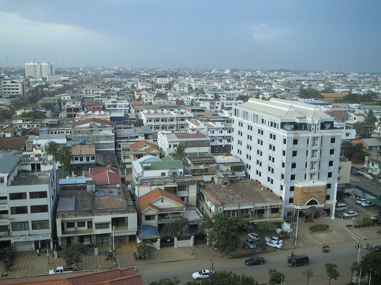 Phnom Penh in all its sprawling glory