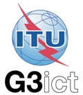 ITU and G3ict logos