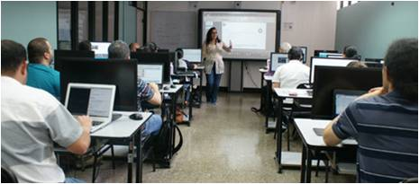Internet for all training program in Costa Rica