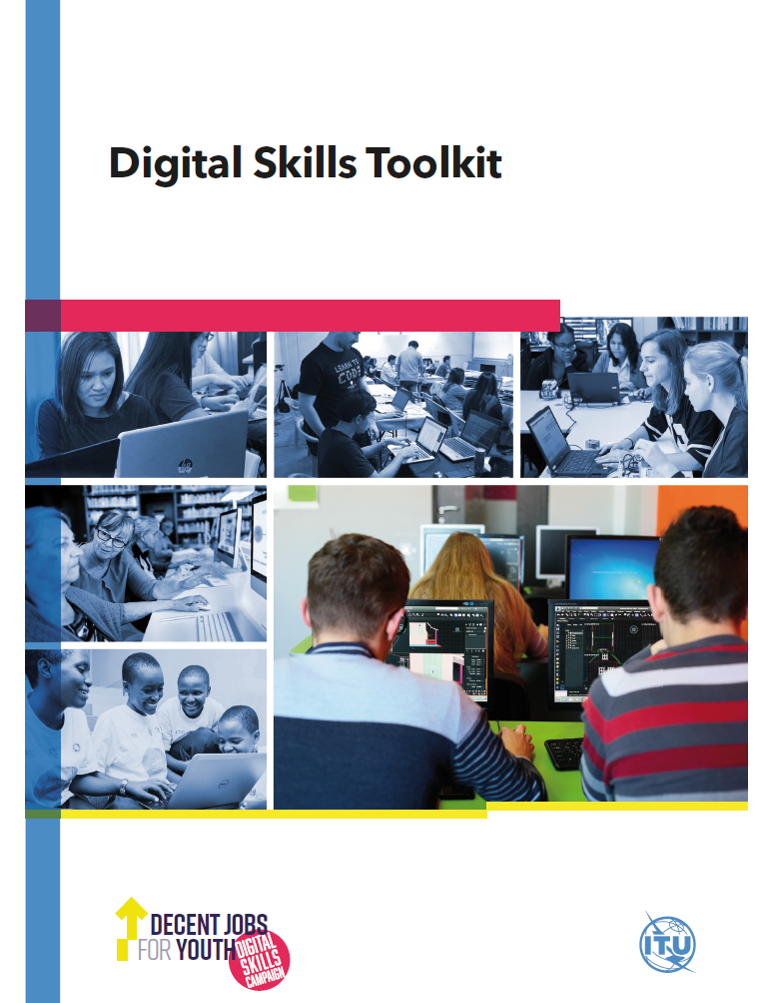 Cover of the Digital Skills Toolkit
