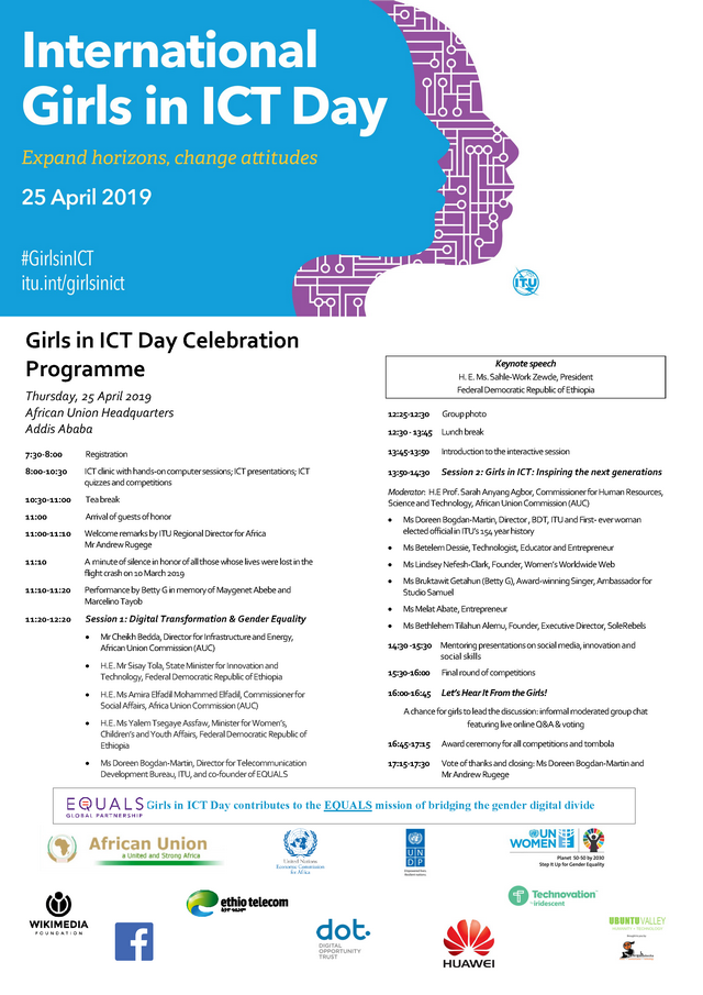 Girls in ICT Day Programme