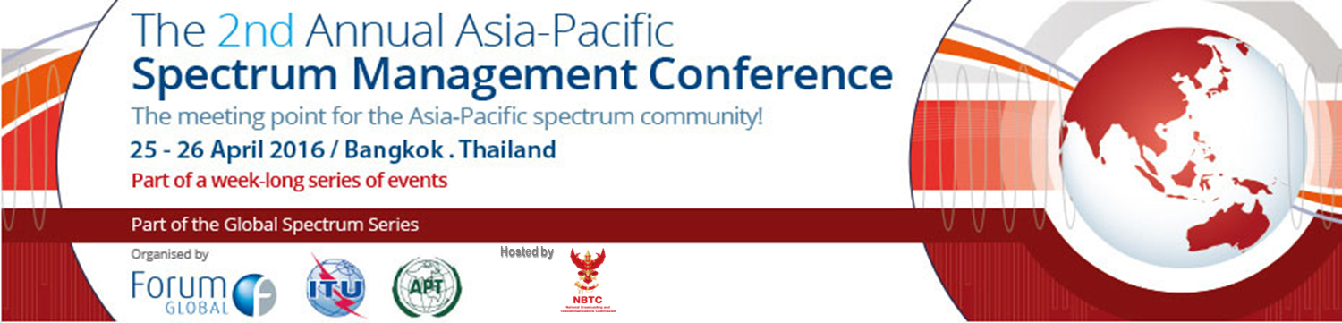 The 2nd Asia-Pacific Spectrum Management Conference and Asia