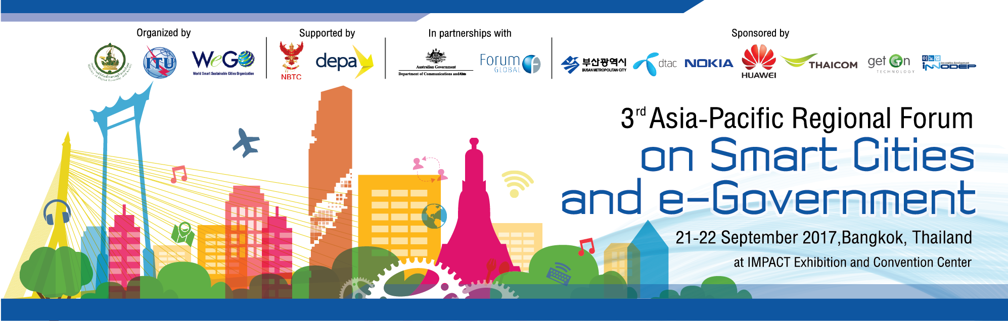 The 3rd Asia-Pacific Regional Forums on Smart Cities and e