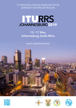 RRS-19 Johannesburg, South Africa, 13-17 May 2019