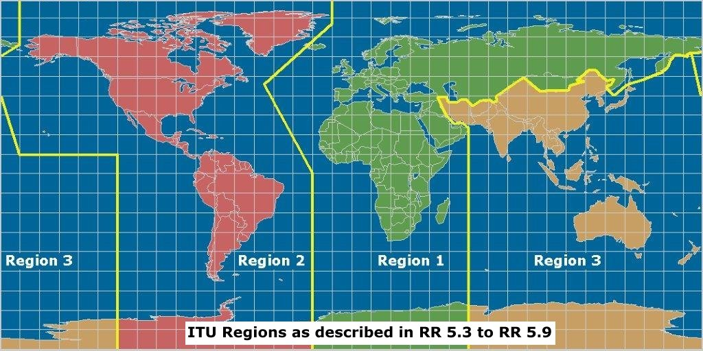 ITU Regions