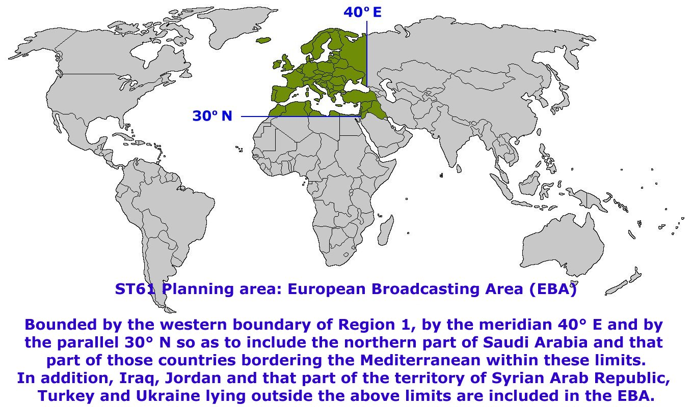 FM / TV Regional Frequency Assignment Plans