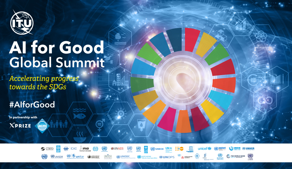 AI for Good Global Summit 2018 Web Banner
