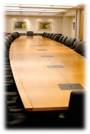 Generic photo of a meeting room