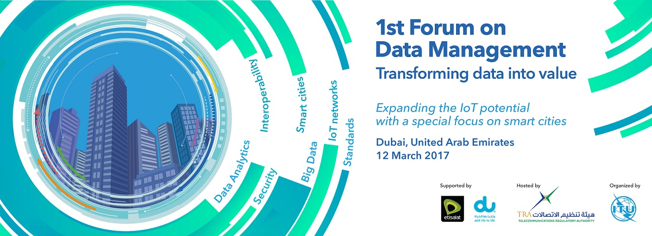 Forum on Data Management: Transforming Data Into Value Banner