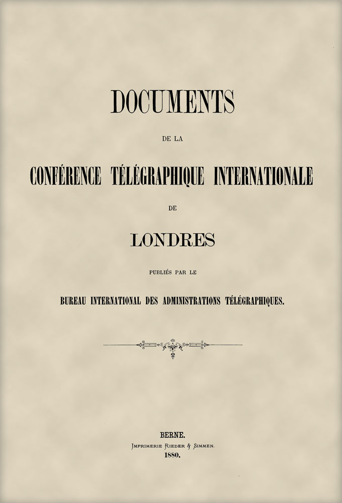 International Telegraph Conference (London, 1879)