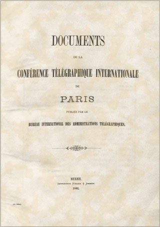 International Telegraph Conference (Paris, 1890)