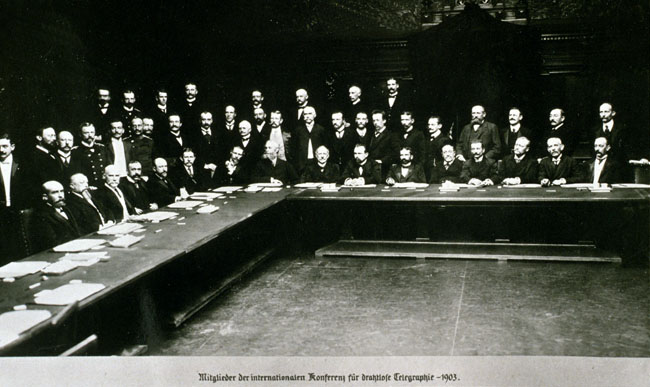 Preliminary Conference on Wireless Telegraphy (Berlin, 1903)