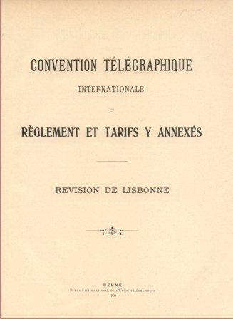 International Telegraph Conference (Lisbon, 1908)
