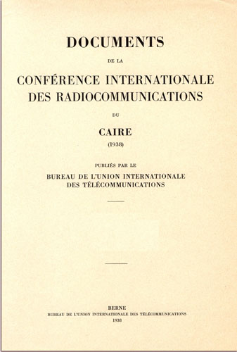 International Radiocommunications Conference (Cairo, 1938)