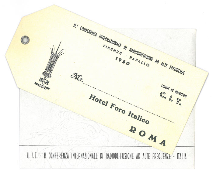 2nd International High Frequency Broadcasting Conference (Florence-Rapallo, 1950)