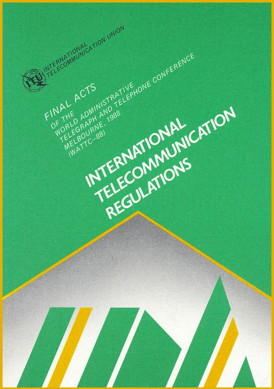 World Administrative Telegraph and Telephone Conference (Melbourne, 1988)