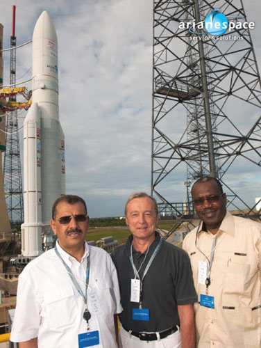 Mr Faraj Elamari, Mr Emmanuel Grave, and Dr Hamadoun I. Touré
