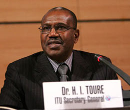 Interview with Dr Touré at Techonomy