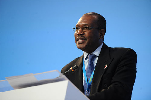 ITU Secretary-General, Dr Hamadoun I. Touré speaks at ITU's Council 2010 Plenary in Guadalajara, Mexico