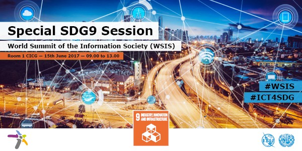SDG9 WSIS session