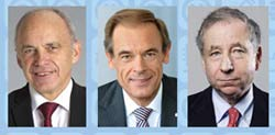 ITU awards President of Swiss Confederation Ueli Maurer, Volkmar Denner of Bosch and Jean Todt, President of F.I.A