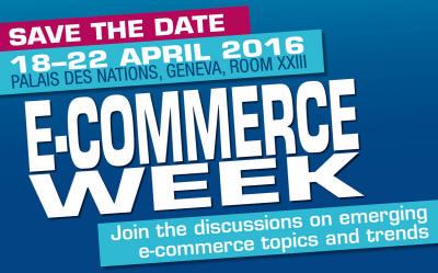 UNCTAD E-COMMERCE WEEK FLYER