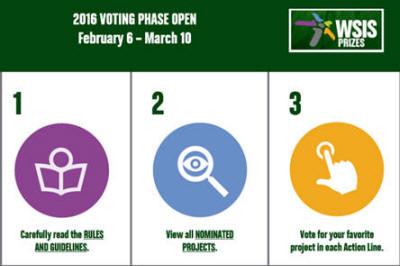 WSIS Prizes 2016 - Voting Phase