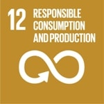 Goal 12: Responsible consumption and production logo