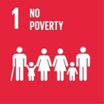 Goal 1: No poverty logo