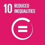 Goal 10: Reduce inequality within and among countries logo