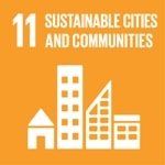 Goal 11: Make cities inclusive, safe, resilient and sustainable logo
