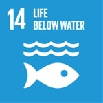 Goal 14: Life below water logo