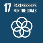 Goal 17: Revitalize the global partnership for sustainable development logo