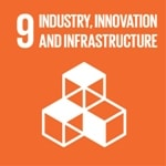 Goal 9: Build resilient infrastructure, promote sustainable industrialization and foster innovation logo