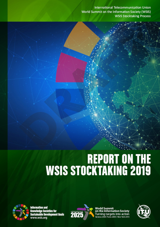 WSIS Stocktaking Report 2019 cover