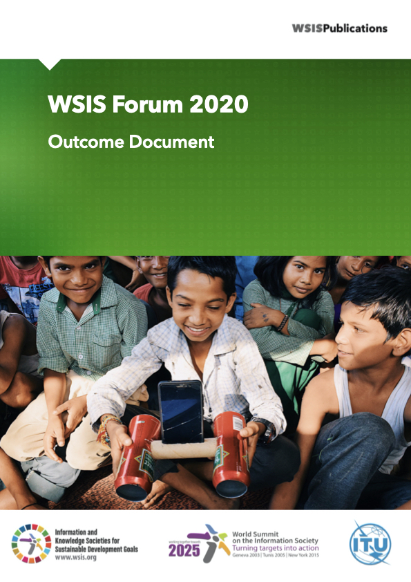 WSIS Forum 2020: Outcome Document