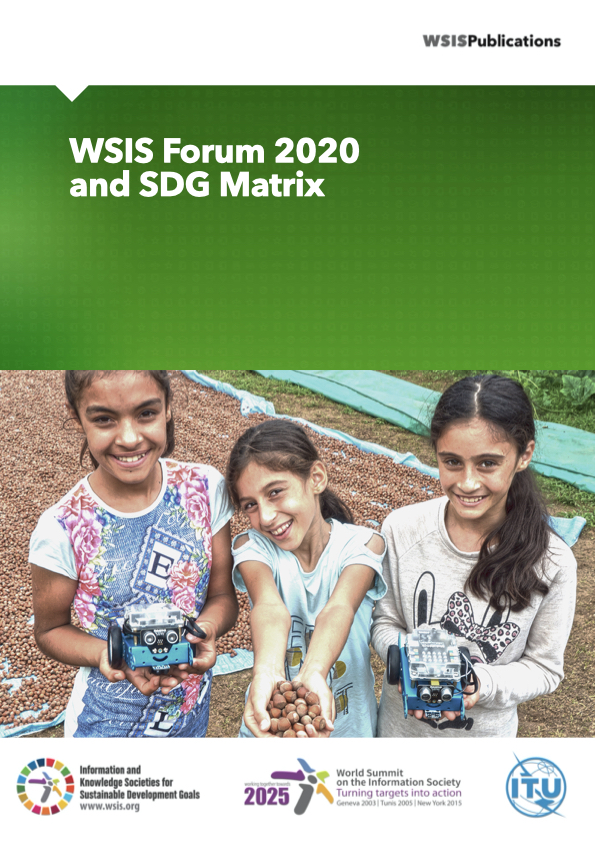 WSIS Forum 2020 and SDG Matrix