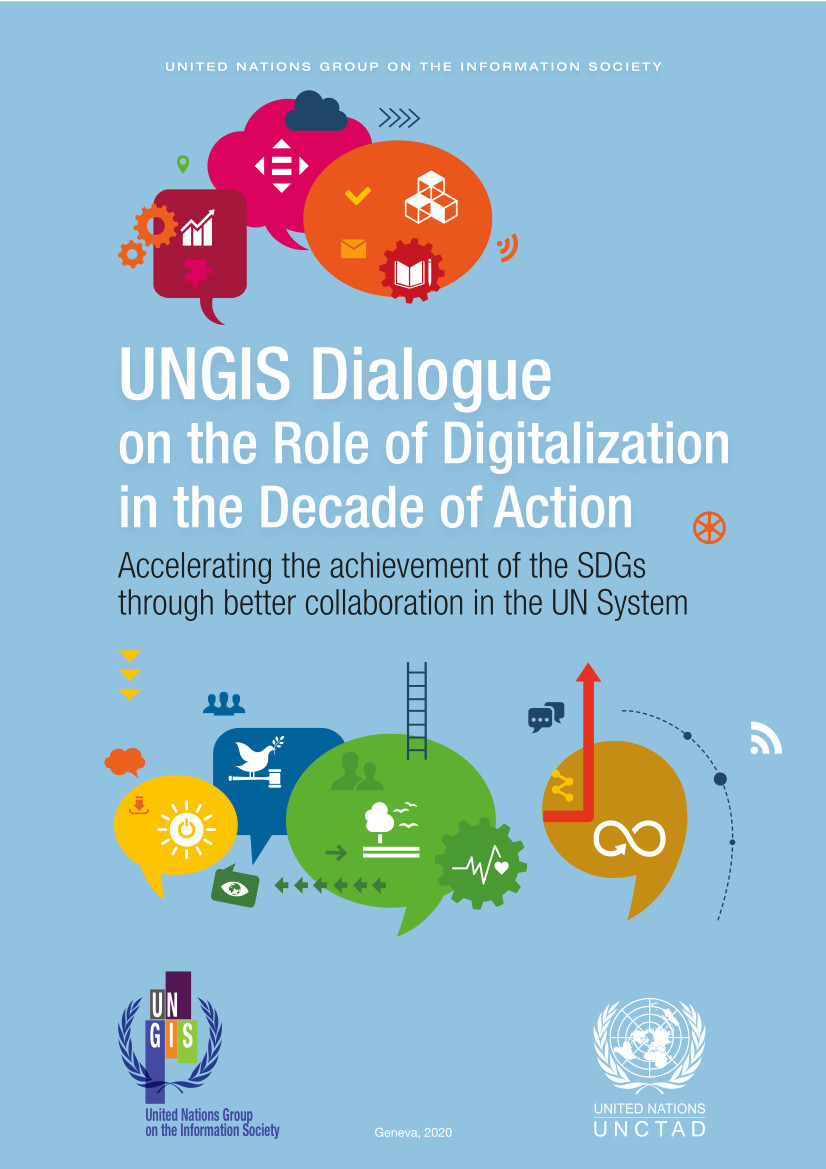 Cover image for UNGIS Dialogue on the Role of Digitalization in the Decade of Action