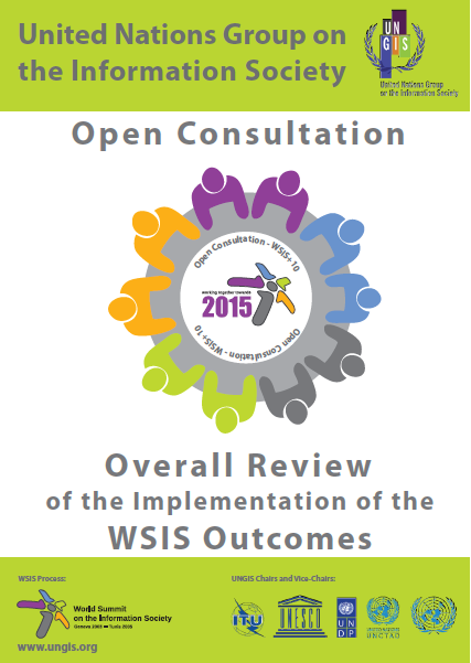 Cover image for Open Consultation Process on Overall Review of the Implementation of the WSIS Outcomes (WSIS+10)