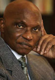 Photo: His Excellency Mr. Abdoulaye Wade, President of the Republic of Senegal
