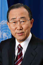 Photo of Mr Ban Ki-moon, UN Secretary-General
